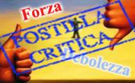Forza/Debolezza Postilla critica