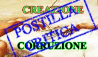Creazione/Corruzione: postilla critica