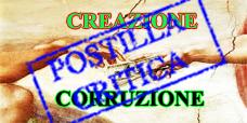 CREAZIONE CORRUZIONEPOSTILLA CRITICA